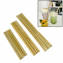 Hoomall® Party Birthday Wedding Biodegradable Reusable Wood Straws Organic - $2.09+