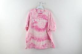 Vtg Streetwear Mens XL Dallas Texas USA Spell Out Acid Wash Short Sleeve... - $34.60