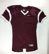 Nike Performance Practice Football Jersey Men's Large Maroon White 616519 - $23.21