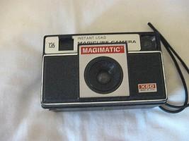 Vintage X50 Magimatic Camera 126 Film Magicube C2-18  - $12.99