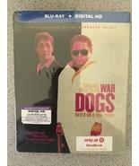 WAR DOGS BLU-RAY + Digital HD Ultraviolet  Limited SteelBook Edition  Br... - $15.19