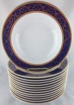 Thun Czech Republic SYDNEY set of (13) rimmed soup bowls FREE SHIPPING - $240.00