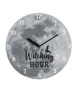 MDF Wall Clock ~  Witching Hour Moon 39230 - $18.90