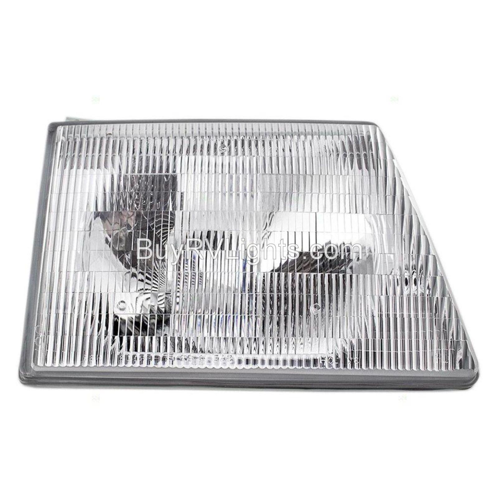 FLEETWOOD FIESTA RV 2002 2003 2004 PAIR HEADLIGHTS HEAD LIGHTS FRONT LAMPS NEW
