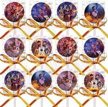 Coco Movie Lollipops Party Favors Supplies with Orange Ribbon Bows 12PCS - $15.79