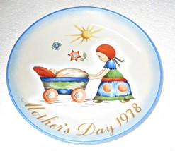 """Hummel Mother's Day Plate 1978 West Germany 7 3/4"""" - $8.95"""