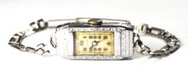 Vintage Women's Gotham Art Deco Wristwatch QCCA 1516 Manual Wind - $19.79