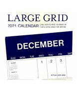 """Day Spring LARGE GRID  2021 Mini Calendar 7"""" X 7"""" Includes 2020 & 2022 4... - $7.00"""