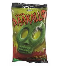 Pääkallo 20x bags of Sour Fruit / Kirpeä Hedelmä 90g candy - $39.59