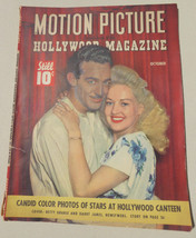 MOTION PICTURE/HOLLYWOOD MAGAZINE ~VOL.LXVI, NO.3, 1943 Hollywood,GRABLE... - $21.77