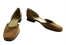Stuart Weitzman Carmel Microfiber w/ Tortoise Patent Trim Shoes size 6 B - $42.00