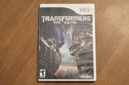 Transformers: The Game (Nintendo Wii, 2007) - $9.06