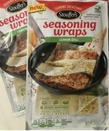 2x Stouffers Seasoning Wraps LEMON DILL 8 Ct Discontinued Salmon Non-GMO... - $18.80
