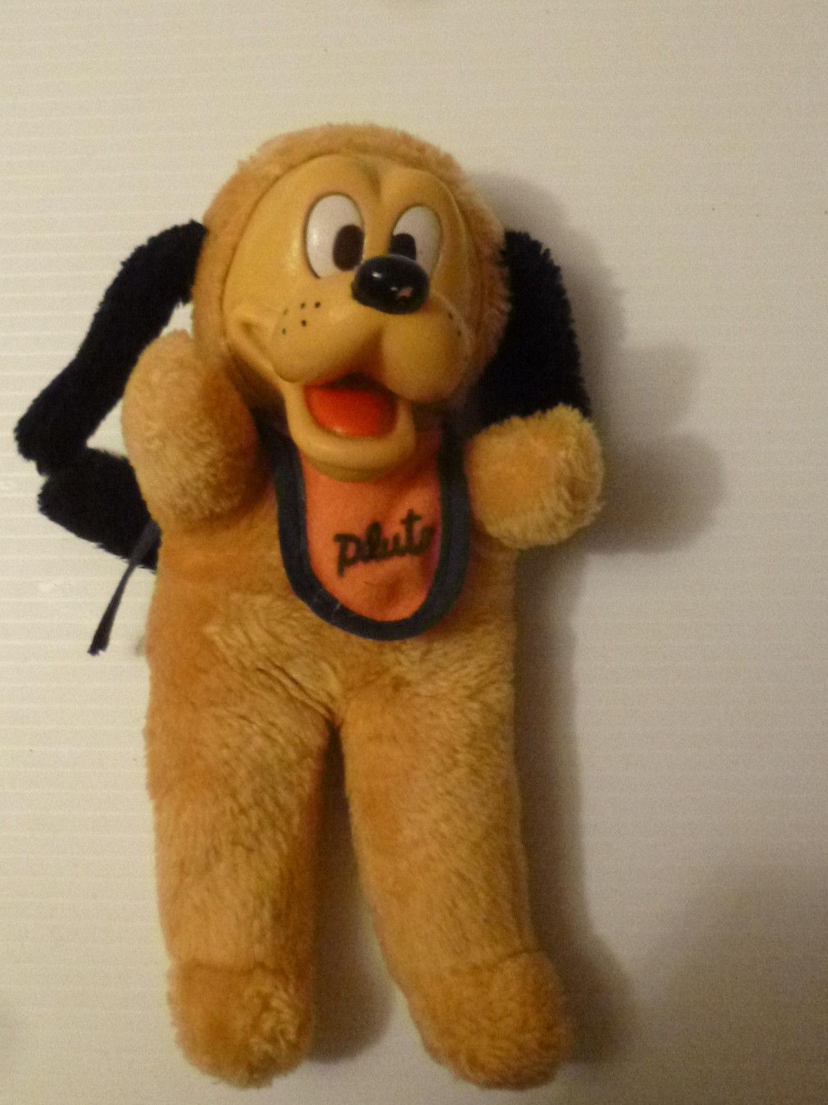 Vintage Pluto w/ Bib Walt Disney Rubber Face and 50 similar items