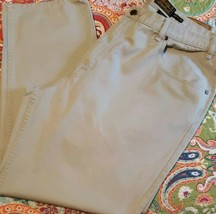 Eddie Bauer Brand ~ Men's 42 x 30 ~ Light Gray in Color ~ Cotton ~ Casua... - $30.00