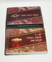 1998 Chevrolet CK Pickup Factory Original Owners Manual Book Portfolio #37 - $19.75
