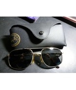 Ray Ban Aviator Sunglasses USED  56 18 l 140MM is on the glasses- Case I... - $29.69