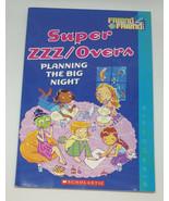 Friend 2 Friend Club SUPER ZZZ/OVERS Planning Sleepovers Children's Book... - $4.99