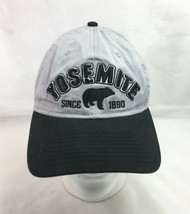 Yosemite National Park Baseball Cap Hat Gray Black Strapback  - $19.80