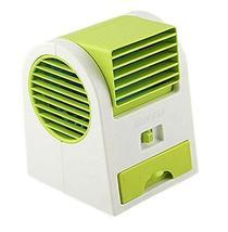 PANDA SUPERSTORE Mini Handheld Portable Fan Air Conditioner Water Cooler USB, Ra