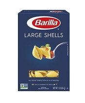 Barilla Pasta, Large Shells, 16 Ounce Pack of 12 - $28.98