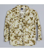Patagonia Womens Shirt L/S Floral Autumn Leaves Outdoor Organic Cotton 8... - $24.99
