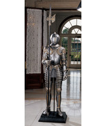 6 ft Medieval Italian Knight Armor Suit 16th Century replica reproduction - $1,286.01