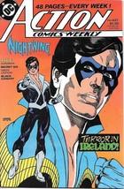 Action Comics Comic Book #627 DC Comics 1988 NEAR MINT UNREAD - $3.99