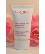 Clarins of Paris Multi Active Day Early Wrinkle Cream .5 oz / 15 ml Trav... - $14.99