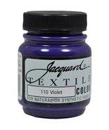 Jacquard Products Jacquard Textile Color Fabric Paint, 2.25-Ounce, Violet - $3.95