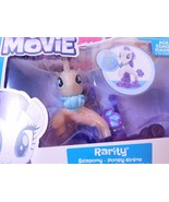 My Little Pony the Movie RARITY Seapony Mermaid Unicorn Pearly & Glitter... - $12.00
