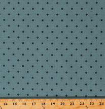 Something Blue Edyta Sitar Ocean Dots Cotton Fabric Print By the Yard D3... - $12.49