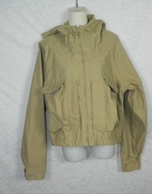 Vintage COLUMBIA Jacket Beige Gore-Tex Lightweight Windbreaker Hooded Si... - $83.90