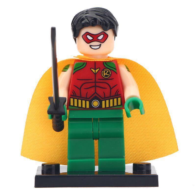 Robin Origins DC Comics Batman Themed Lego Minfigures Block Toy Gift For Kids