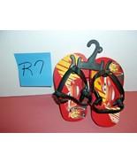 Toddler Disney Cars 3, Lightning McQueen Flip Flops Red Shoes New - $7.99