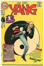 Yang #1 1973- Charlton Comics- Martial Arts superhero VF- - $40.35