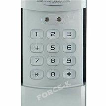 Keyless Lock Buildone BO-C10N Digital Doorlock Security Entry Password Silver image 4