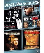Denzel Washington: 4-Movie Spotlight Series (DVD, 2013, 3-Disc Set) - €8,16 EUR