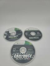 Call of Duty Black Ops II , Modern Warfare, MW3 (Microsoft Xbox 360) Disc Only  - $22.79