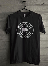 Bacon Is Meat Candy - Custom Men's T-Shirt (4423) - $19.13+