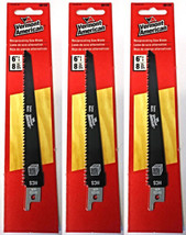 "Vermont American 30123 6"" x 8 TPI HCS Reciprocating Saw Blade (3 Packs) - $4.46"