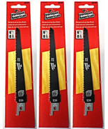 """Vermont American 30123 6"""" x 8 TPI HCS Reciprocating Saw Blade (3 Packs) - $4.46"""