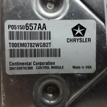 12 2012 Dodge Avenger Chrysler 200 3.6L engine ECU ECM control module P05150657A - $98.99