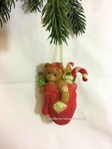Cherished Teddies Ornament 2007 Dated  Bear In Mitten NIB - $24.70