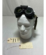 1944 B17 BOMBER GUNNERS HIGH DENSITY PILOT AVIATION GOGGLES US AAF USAF - $123.74