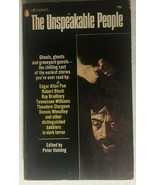 THE UNSPEAKABLE PEOPLE editor Peter Haining (1969) Popular Library horro... - $12.86