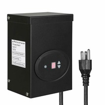 120W OUTDOOR LOW VOLTAGE TRANSFORMER WITH TIMER AND PHOTOCELL SENSOR - $95.51+
