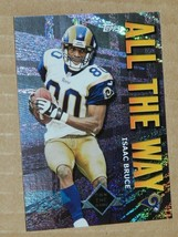 2001 TOPPS INSERT ISSAC BRUCE RAMS ALL THE WAY #AW8 - $0.99