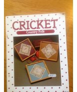 Cricket: Country Folk [Pamphlet] - $2.48