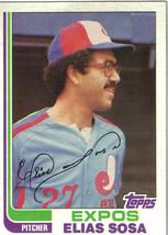 1982 Topps Elias Sosa Montreal Expos #414 Baseball Card - $1.97